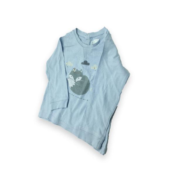 t-shirt bl ciel
