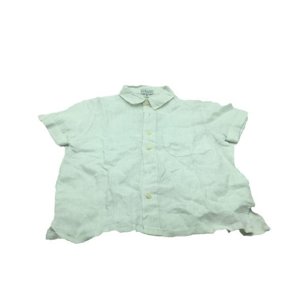 chemise en bleu