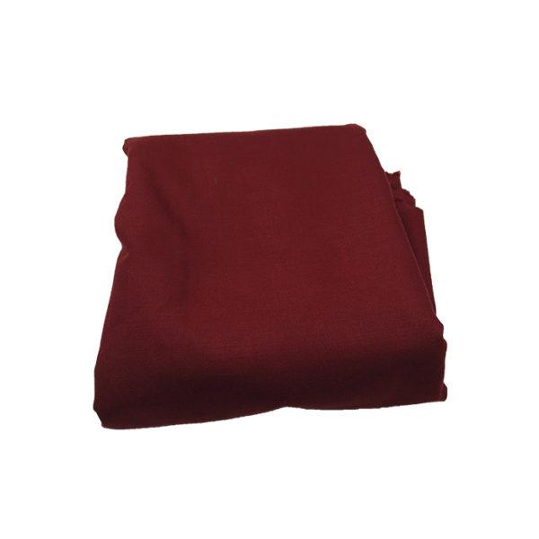 Tissu 2m50 rouge