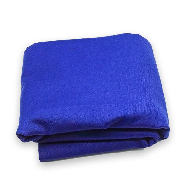 Tissu 2m50 bleu
