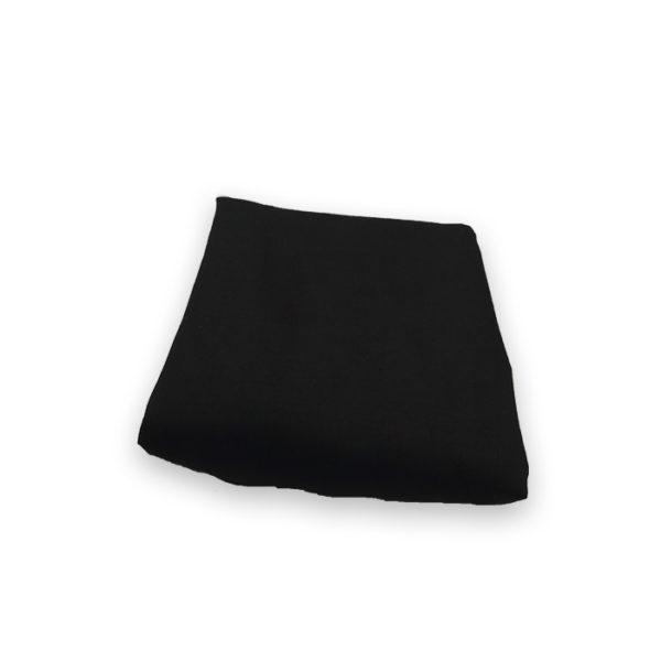 Tissu 2m50 noir