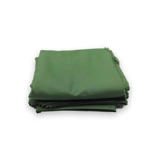 Tissu pantalon vert