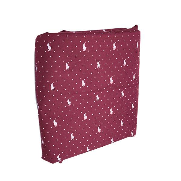 Tissu coton rouge pour chemise