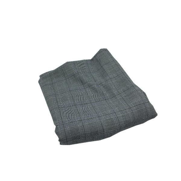 tissu pantalon gris