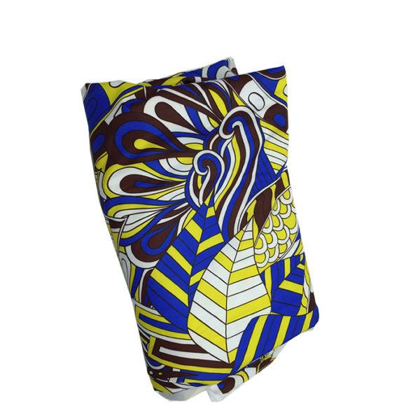 Tissu coton bleu pour chemise