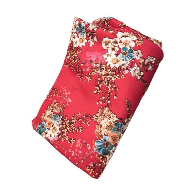 Tissu Néoprène rouge
